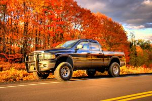 HDR Dodge Ram Autumn 2 by Nebey
