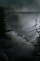 Skeleton Lake by Bone-Fish14