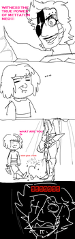 outdated undertale joke by RandomTacoLuver