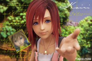 Kairi : I'm with you... by angelchan3