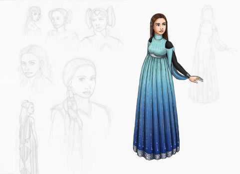 Padme: new dress by AsjJohnson