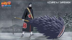 Kisame with Samehada by goriverde