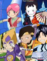 code lyoko warriors by pokemon-fan