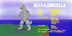 MechaGodzilla by PickledGenius
