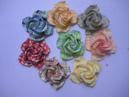 Post-It Roses by miss-manami
