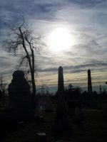 Cemetery Days by Asphyxia777
