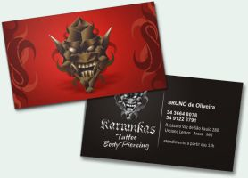 Tattoo Business Card by tutom