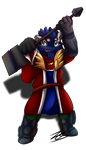 .:Forgemon:. *late gift for Squirrel* by Nights2Dreams