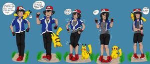 Ash genderswap by TheDarkShadow1990