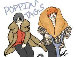 Poppin' Tags by scribbledit