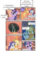 Look Before You Sleep MLP Comic by stratusxh
