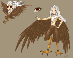 Monster Girl Adoptables - Harpy Auction CLOSED by ArgentumZeena