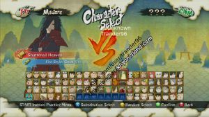 Naruto Shippuden : Ultimate Ninja Storm 3 Roster by Kaiology