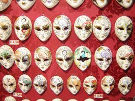 Faces of Venice by dancewritephoto