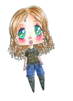 Chibi Self by TaitRochelle
