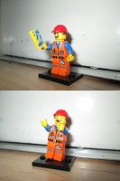 LEGO Movie - Hard Hat Emmet (71004) by KrytenMarkGen-0