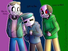 Infectionstale Eddsworld by UniverseCipher
