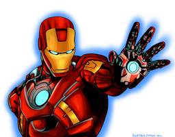 Iron Man by captaink1rk