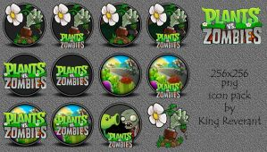 Plants vs Zombies icon pack by KingReverant