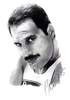 Freddie Mercury by SweetSophie