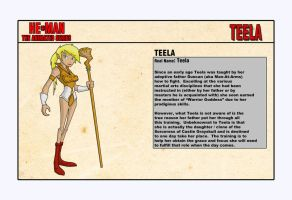 Teela - Character Design by shubcthulhu