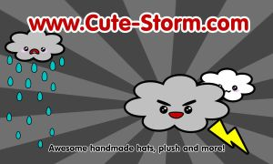 New card back: Cute storm by The-Cute-Storm