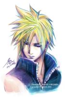 06missing pieces Cloud Strife by h0taru