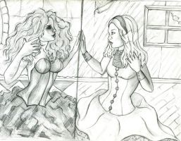 Through the Looking Glass by Alexis-Paige