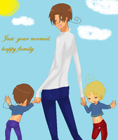 Just your normal, happy family by fushigi-no-kuni-oujo