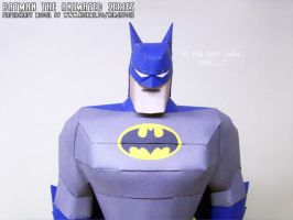 Don't mess with The :papercraft: Batman...! by ninjatoespapercraft