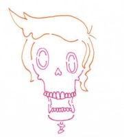 Pink Skull by Rayleighev
