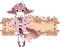 Naegineko Species #3 ||  Auction || CLOSED by Reo-chii