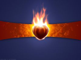 Burning Heart 2 by al-xx