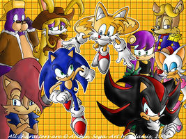 Archie Sonic:Fight for Freedom by adamis