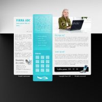 Another company layout. by webgraphix