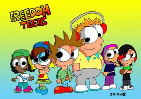 Freedom Teens by JimmyCartoonist