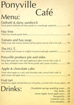 Ponyville Cafe Menu by Skeptic-Mousey