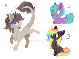 Cuties Adopts Auction CLOSED by AkiiiNeko