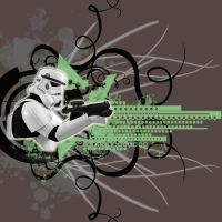 Stormtrooper Grafik by WiL-Woods
