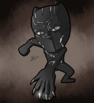 Black Panther by mporkyp