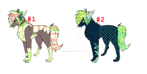 Canine Auction CLOSED by HazeAdopts