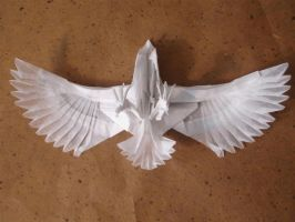 Eagle-Nguyen Cuong2 by origami-artist-galen