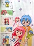 Erza and Jellal *-* by nagellackentferner