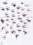 Anime Eyes 3 by MaruHimeChan
