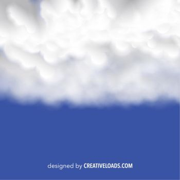 Vector Background with Clouds by Roberis