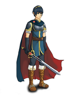 Marth - SSB4 Fan Art by MrPedoSloth