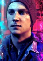 Delsin Rowe - Neon Video Smoke Powers by strippee