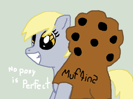 AT with PKNess012364 Derpy in a muffin by Lucaslover89