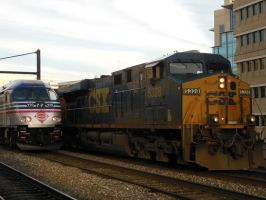 CSX 5328 Passing By by rlkitterman