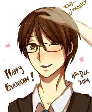 Happy Birthday Kiyoteru! by YerBestFriend99
